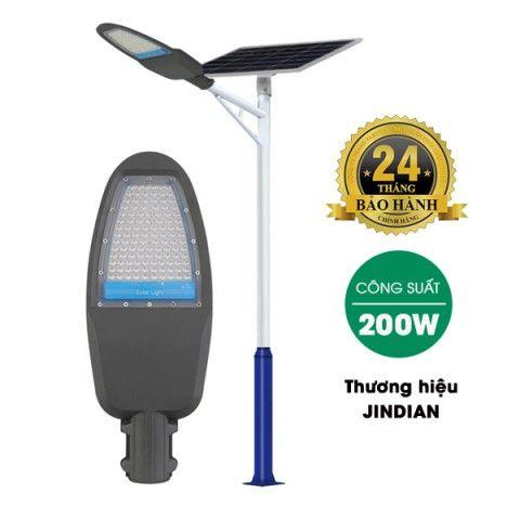 Đèn đường năng lượng mặt trời 200W | JD-Z200