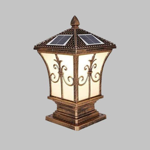 Đèn trụ cổng năng lượng mặt trời ST2