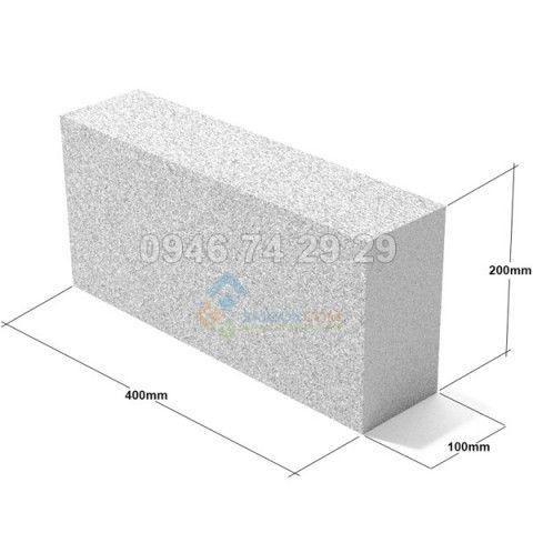 Gạch Bê Tông bọt khí  400x200x100