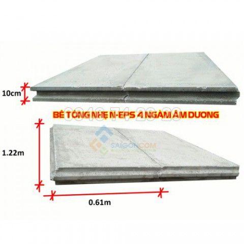 Tấm bê tông nhẹ EPS xây tường