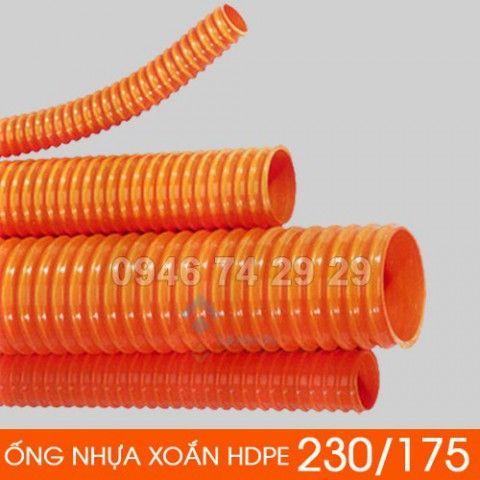 Ống nhựa gân xoắn HDPE 230/175