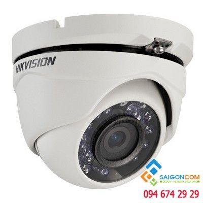 Camera bán cầu Hikvision DS-2CE56D8T-ITME HDTVI 2.0MP hồng ngoại 20m siêu nhạy sáng (vỏ sắt) PoC
