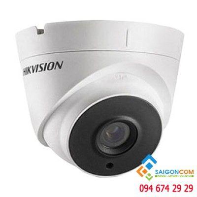 Camera bán cầu Hikvision DS-2CE56D8T-IT3 HDTVI 2.0MP hồng ngoại 50m siêu nhạy sáng