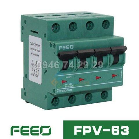 MCB DC FEEO FPV-63 4P 1000V