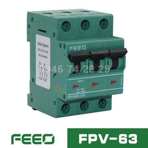 MCB DC FEEO FPV-63 3P 1000V