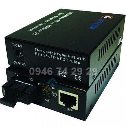 Bộ chuyển đổi quang điện 10/100M Single Fiber- Multi mode 2 Sợi quang