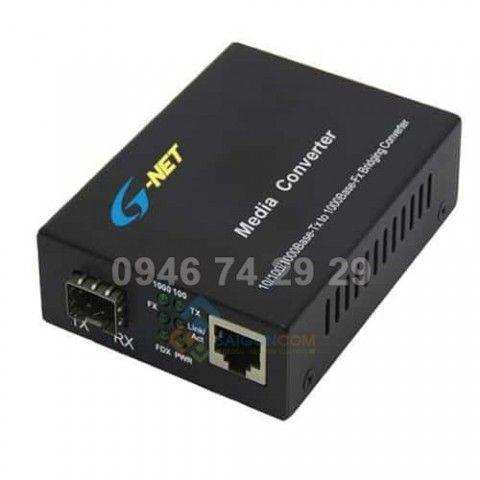 Chuyển đội quang điện  HHD-120G-20 Converter 10/100 Base-TX/FX Media Converter 20Km SC - Single mode & Multimode