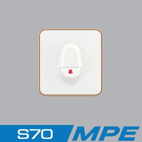 Nút nhấn chuông 250V - 6A MPE S7DBP