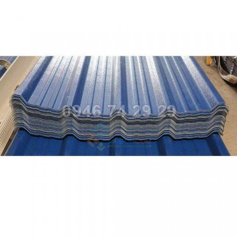 Tôn PVC/ASA 5 sóng Tôn ngói nhựa , Rộng: 1.080mm DTSD: 1.000mm dày 2.5mm