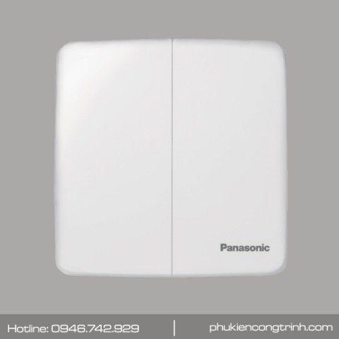 Bộ công tắc đôi 1 chiều 16A Panasonic Minerva WMT503-VN (Trắng)
