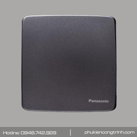 Bộ 1 công tắc B - 1 chiều 16A Panasonic Minerva WMT501MYH-VN (Đen ánh kim)