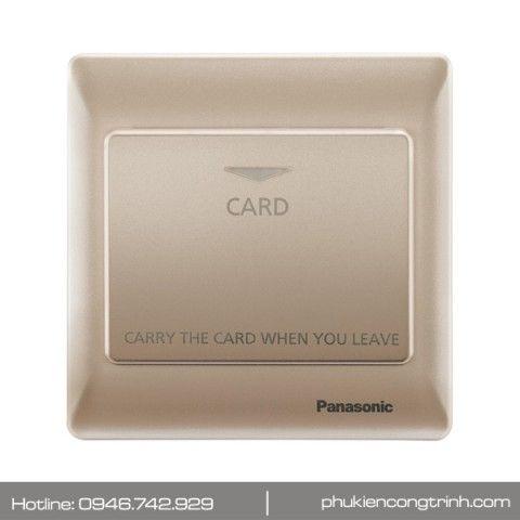 Bộ công tắc thẻ từ 16A Panasonic Minerva WEC5781MYZ-VN