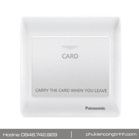 Bộ công tắc thẻ từ 16A Panasonic Minerva WEC5781W-VN