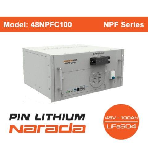 Pin Lithium Narada 48V - 100Ah | Model: 48NPFC100