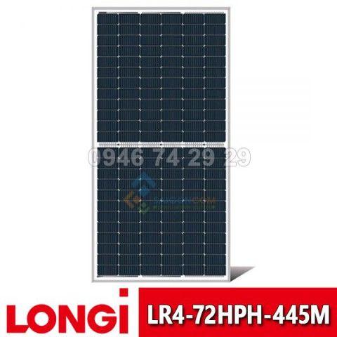 Tấm pin năng lượng mặt trời Half Cell LONGI 445W | Model: LR4-72HPH-445M