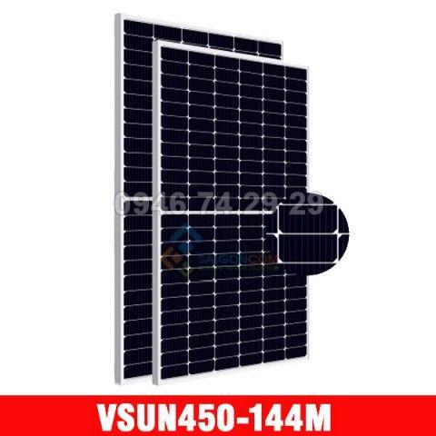Tấm pin năng lượng mặt trời VSUN mono 450W Half Cell