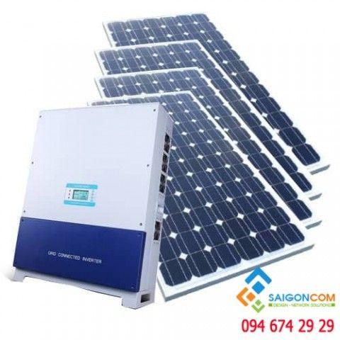 Hệ thống điện NLMT 8.3KWp/5KVA