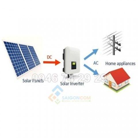 Hệ thống điện 1.6KWp  Năng lượng mặt trời Hoà lưới