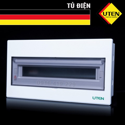 Tủ điện âm tường Uten 18 module M5-A118T