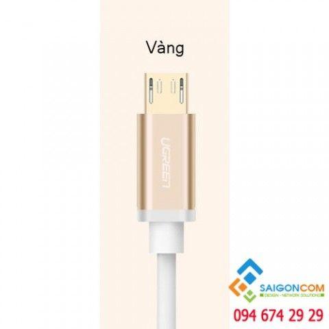 Dây Micro USB sang USB 2.0 màu GOLD UGREEN dài 1.5M