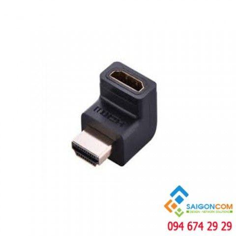 Đầu nối HDMI vuông 90 độ  (bẻ lên)