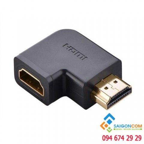 Đầu nối HDMI vuông 90 độ  ( bẻ trái )