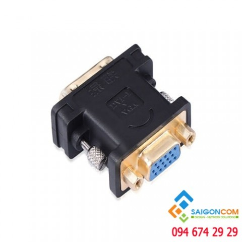 Đầu chuyển DVI (24+5) ra VGA âm