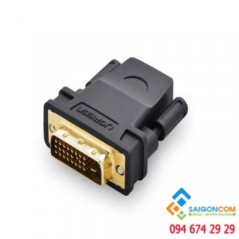 Đầu chuyển đổi HDMI âm sang DVI 24+1 dương
