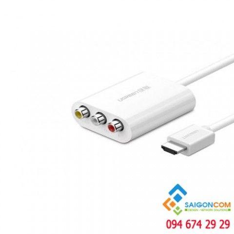 Cáp chuyển HDMI sang AV chính hãng Ugreen 30452