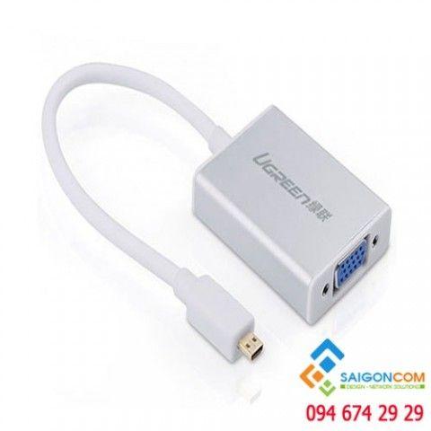 Cáp chuyển tín hiệu Micro HDMI sang VGA chính hãng Ugreen 40222