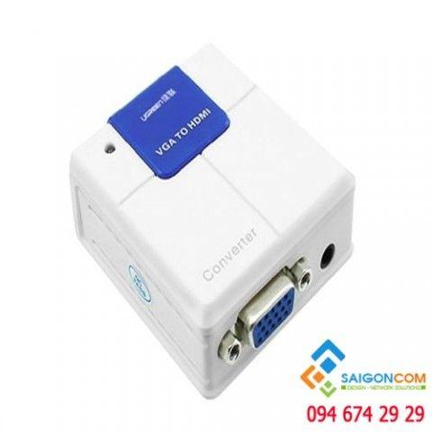 Bộ chuyển đổi VGA sang HDMI chính hãng Ugreen 40224