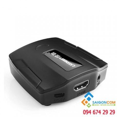 Cáp chuyển đổi HDMI sang VGA + Audio chính hãng Ugreen UG-40227 cao cấp