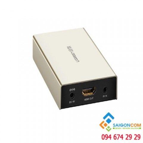 Bộ khuyếch đại HDMI qua cáp mạng 120M chính hãng Ugreen 40283
