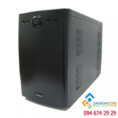 Bộ lưu điện Online UPS 1kVA/ 900W - Double Conversion - Pure Sine Wave - TOWER