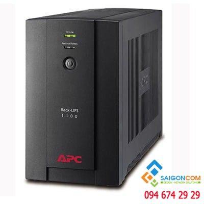 Bộ lưu điện APC Back-UPS 1100VA, 230V