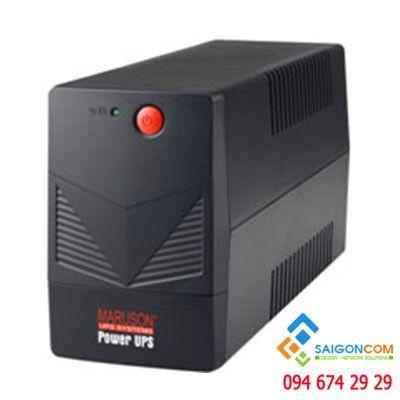 Bộ lưu điện 500VA/250W 18 phút có 2 ổ cắm UPS MARUSON