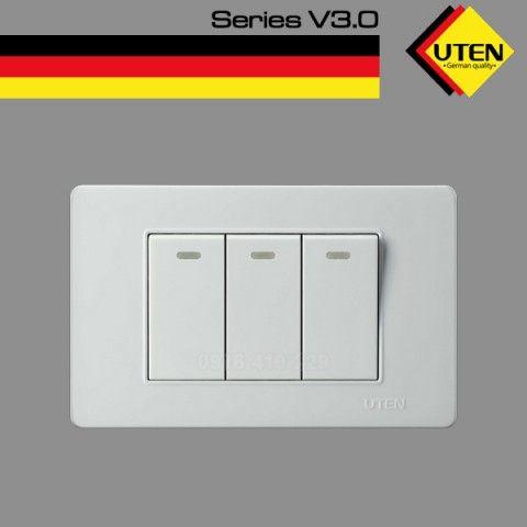 Bộ 3 công tắc UTEN V3 (Size S)