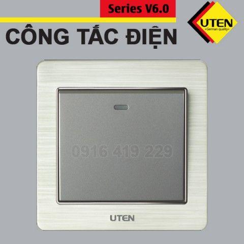 Công tắc điện 1 chiều Uten V6.0GK11