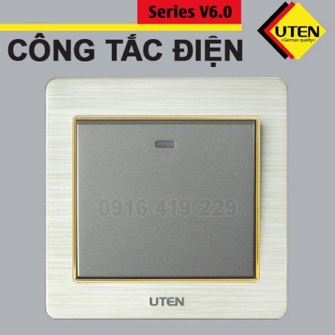 Công tắc điện 2 chiều Uten V6.0GK12