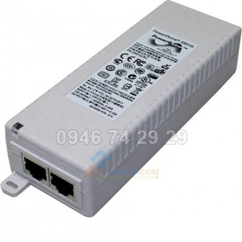 Bộn guốn P0E SINGLE PORT 802.3AF MIDSPAN DEVICE