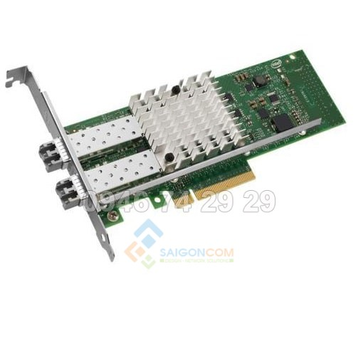 Card - Intel Ethernet Converged Network Adapter X520-DA2 ( 2 Port 10GB)