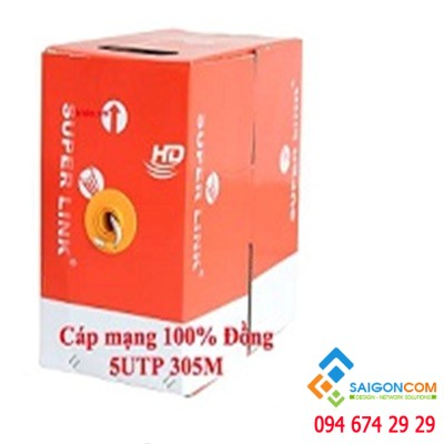 Cáp mạng Super Link Cat6e UTP Copper 1