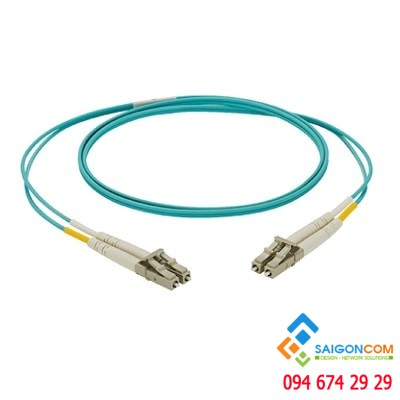 Dây patch cord Panduit 2 sợi OM3 1.6mm LC Duplex - 10m