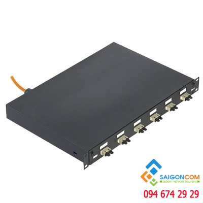 Fiber  Drawer ODF NK Pre-loaded  6 SC (OS1/OS2)