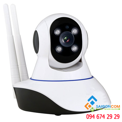 Camera WIFI SCAM 1.3mp 2 angten Hình Ảnh HD
