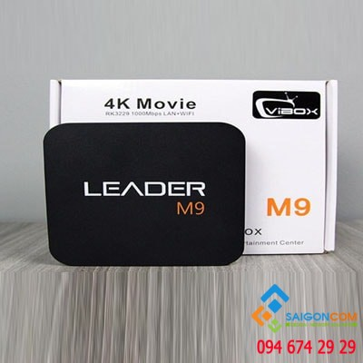 VIBOX Leader M9 - Android TV  Box giá rẻ