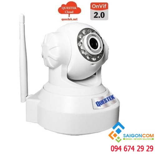 CAMERA WIFI 1.0 MP QOB-905HW - QUESTEK