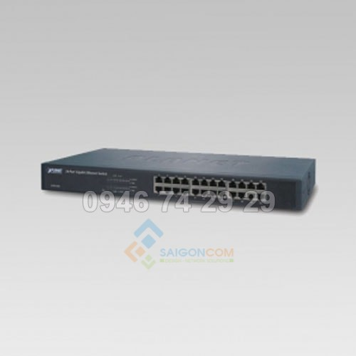 Switch Planet 24-Port 10/100/1000Mbps Gigabit Ethernet