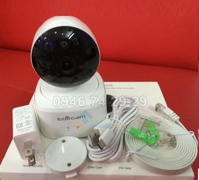 CAMERA WIFI 2.0 MP Ebitcam E2
